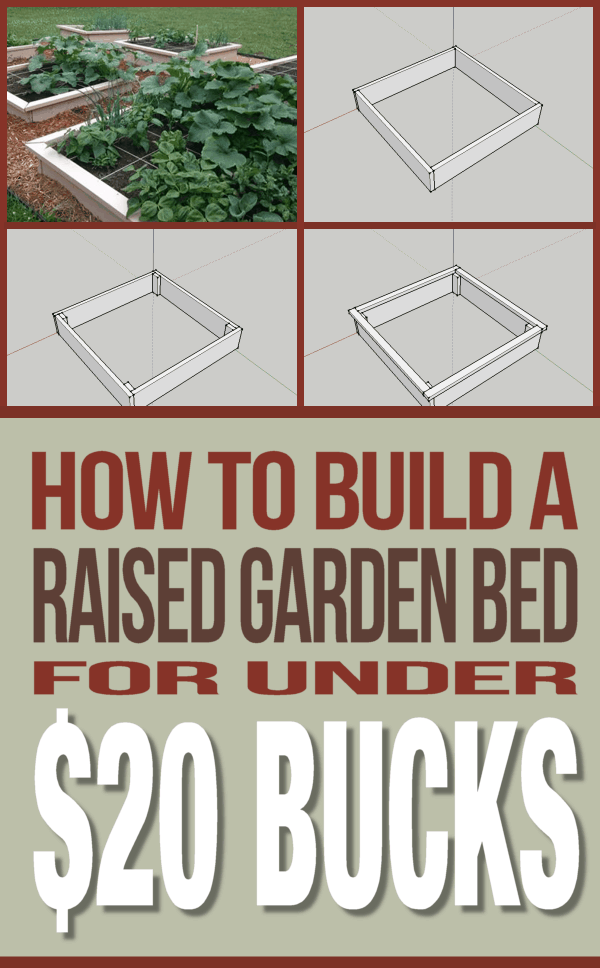 How To Build A 4 Raised Garden Bed For Less Than 20 400 x 300