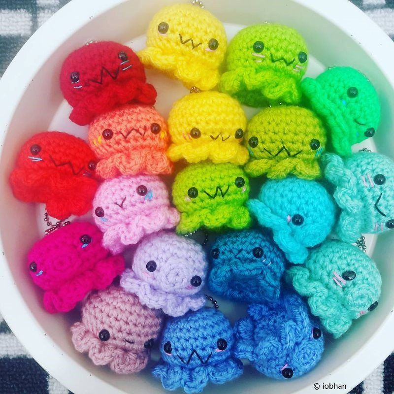 Awesome Crochet Octopuses