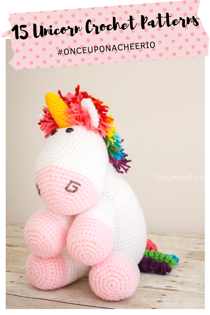 The Most Adorable Unicorn Crochet Patterns | Free crochet, Ravelry ...