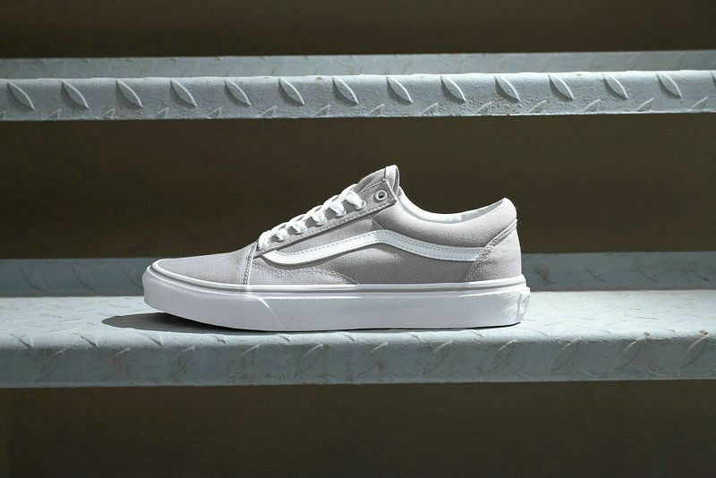 vans old skool light grey