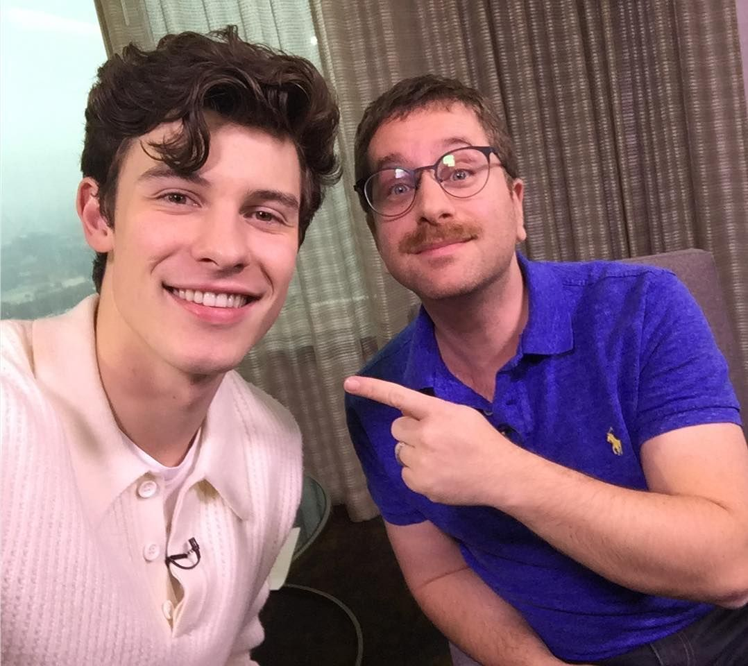 Always Tons Of Fun Chatting With Shawnmendes Got To Hang With