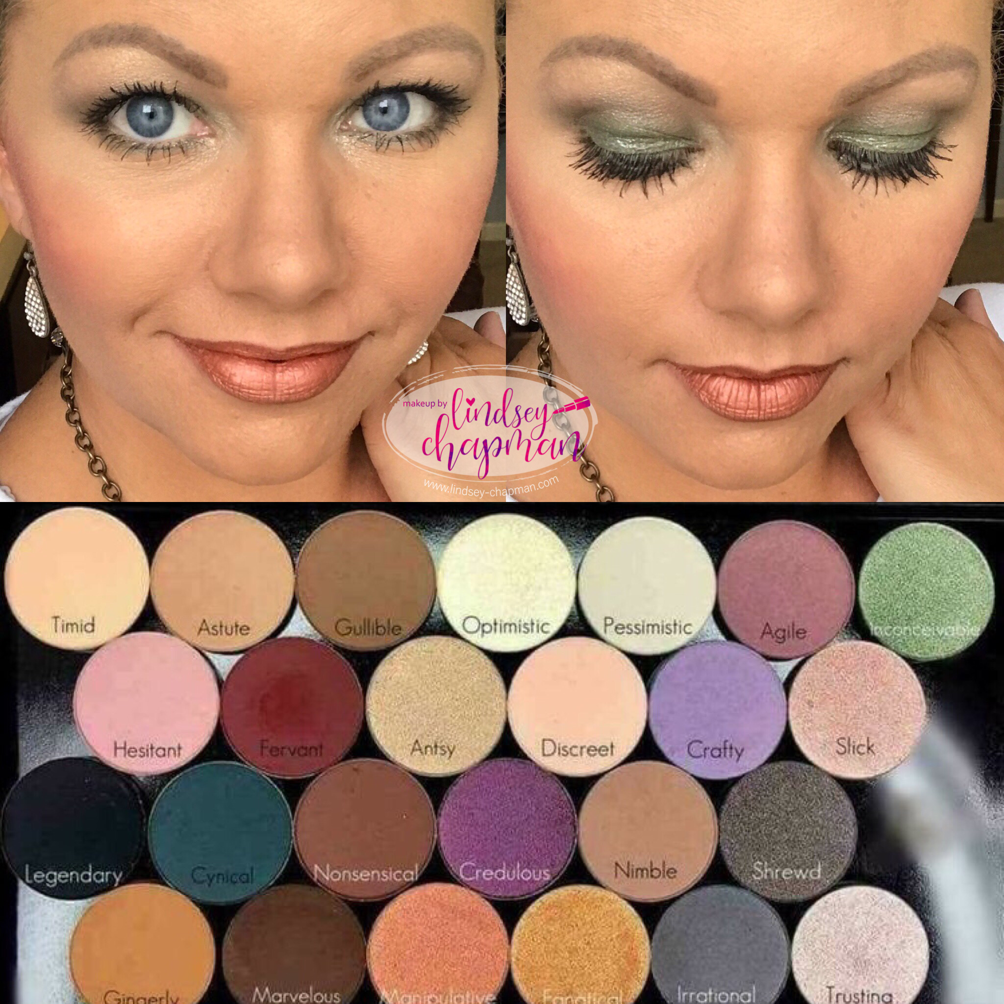 Younique pressed shadows customize your palette💗 (With