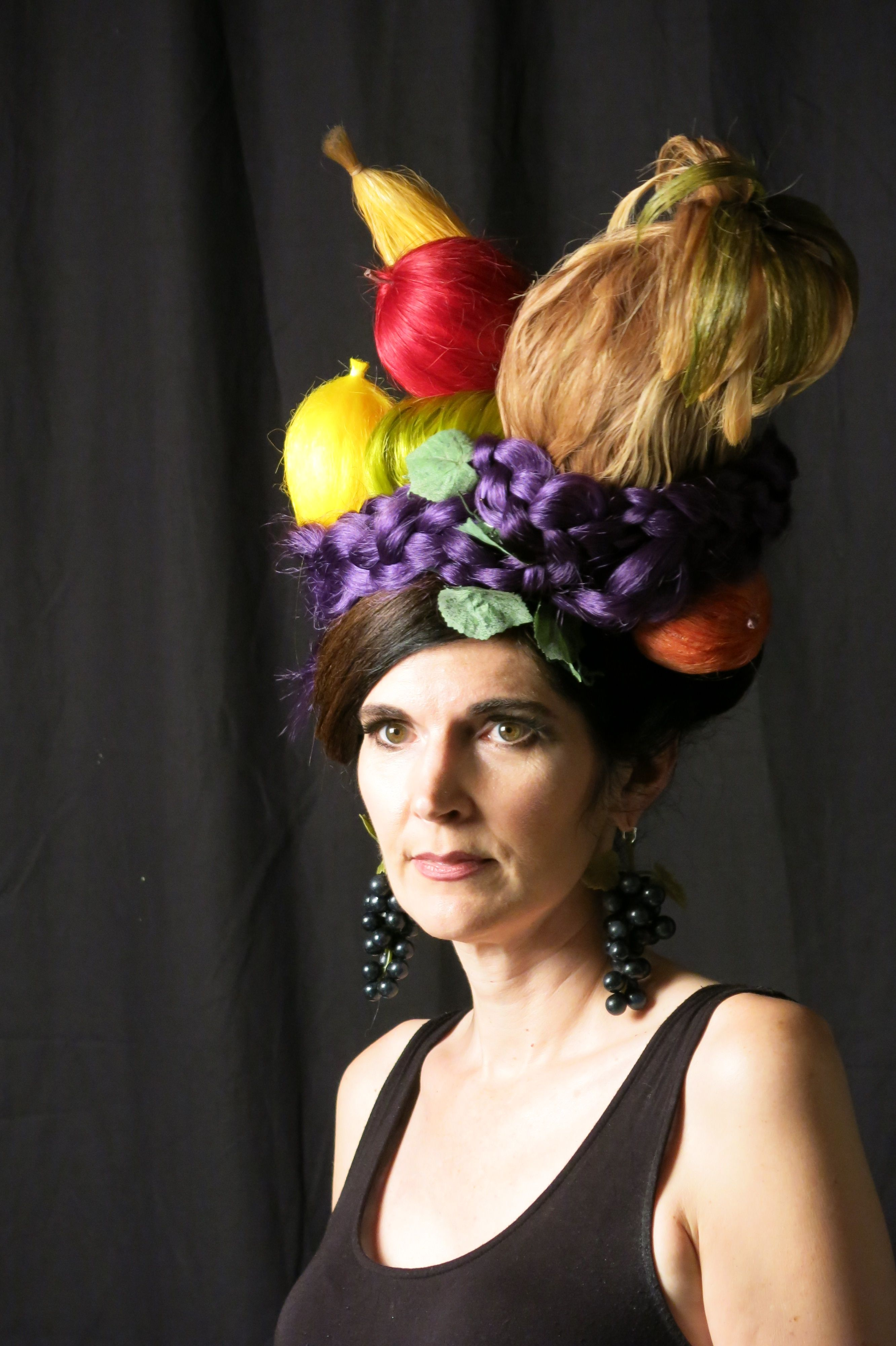 Carmen Miranda Fruit bowl inspired fantasy hair | #Utopia ...