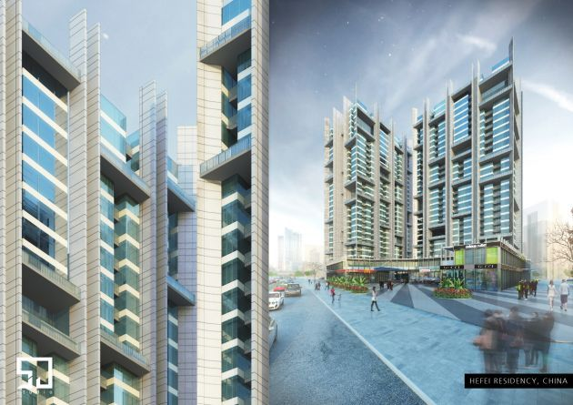 CGarchitect - Professional 3D Architectural Visualization User Community | Hefei Residency | Hefei - China