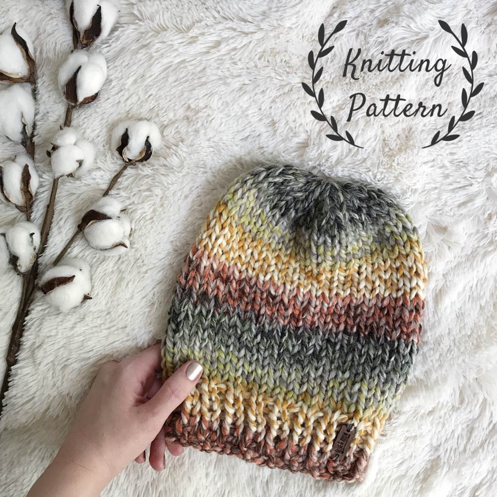 Knitting Pattern Adult Knit Hat Beanie // The Kennebec   Olive + ...