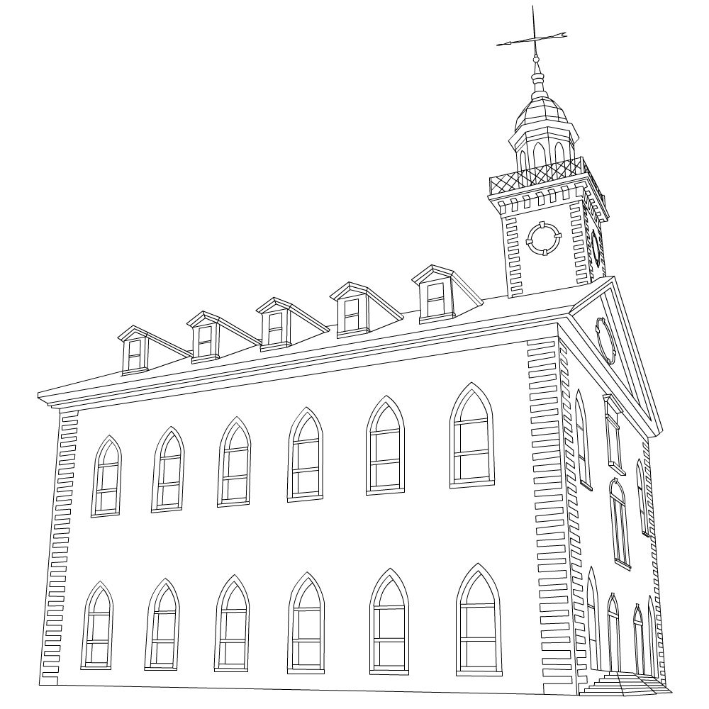 Free Lds Clipart To Color For Primary Children Find More Clipart