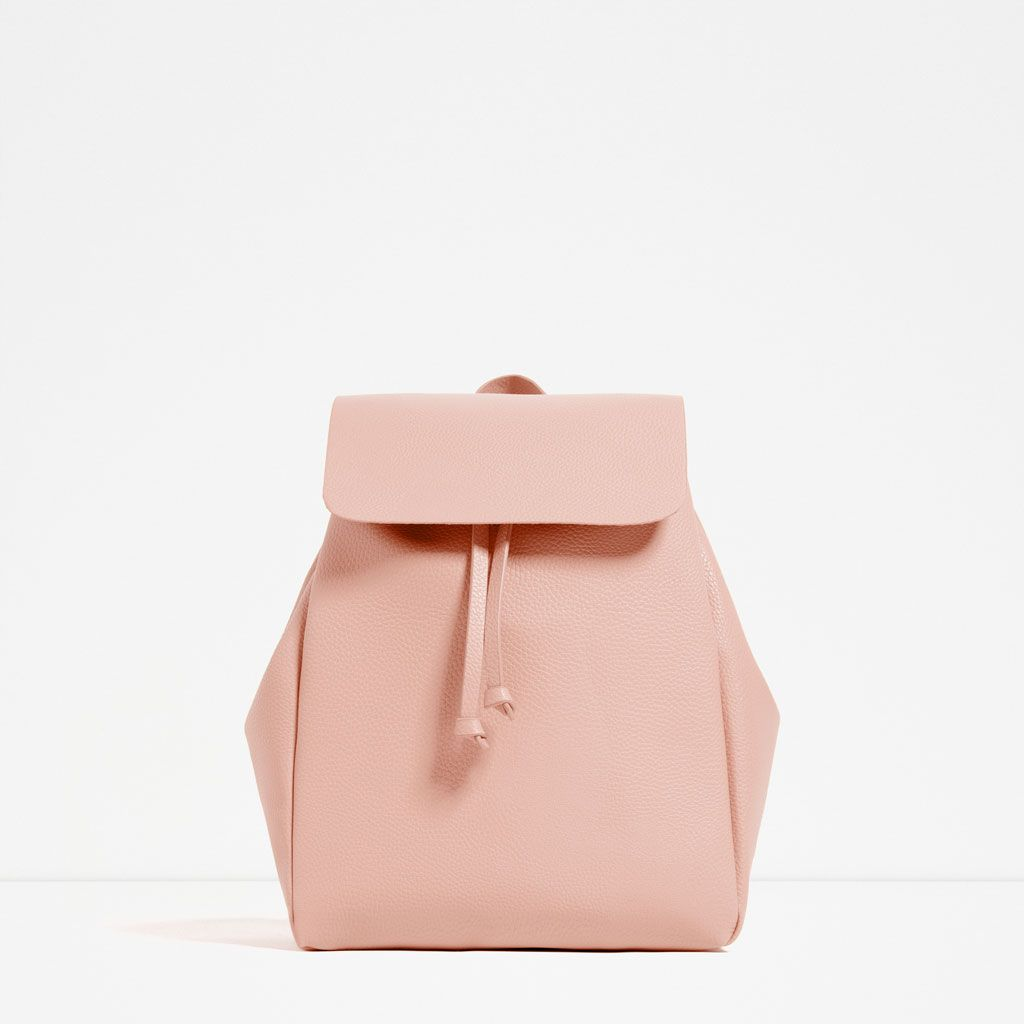 BACKPACK WITH FOLDOVER FLAP-View all-BAGS-WOMAN | ZARA Singapore