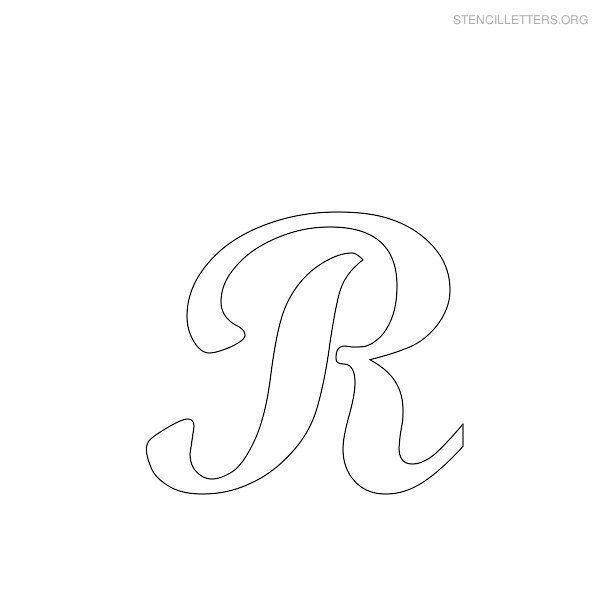 Alphabet Stencils On Pinterest