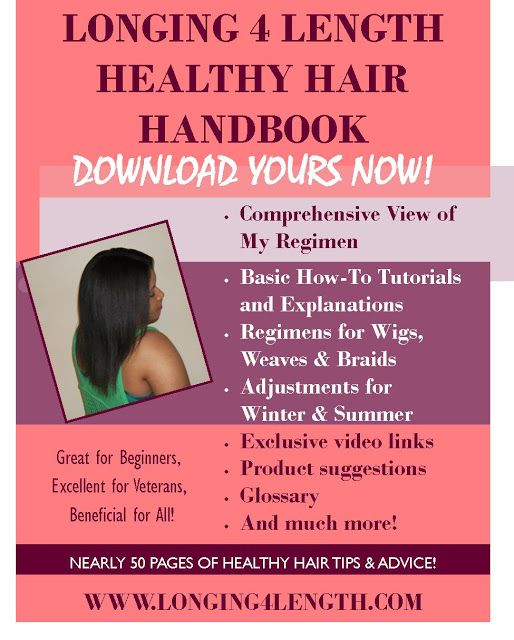 L4L Healthy Hair Journey Handbook is now available!