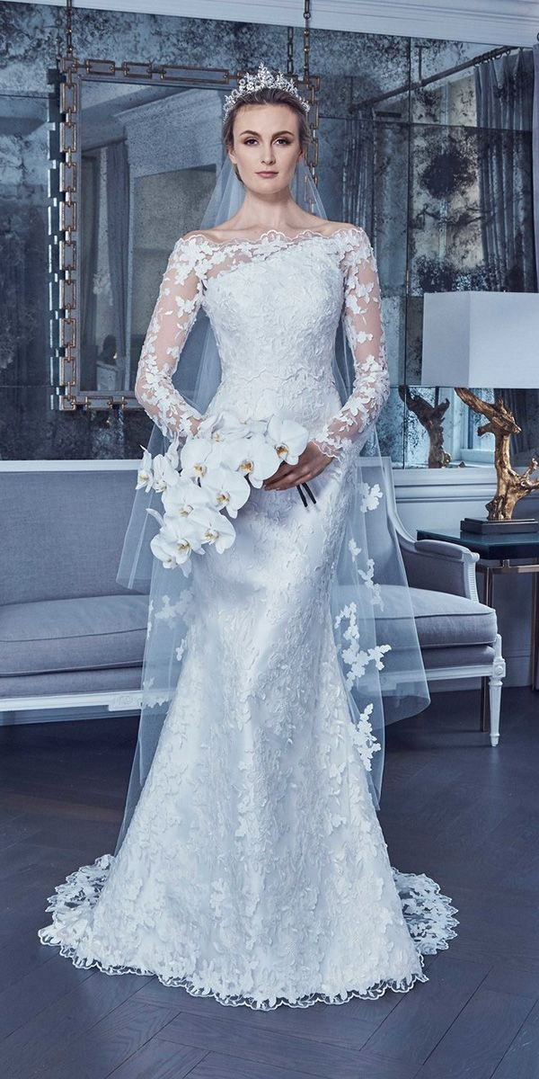 30 Wedding Dresses 2019 — Trends & Top Designers Modest