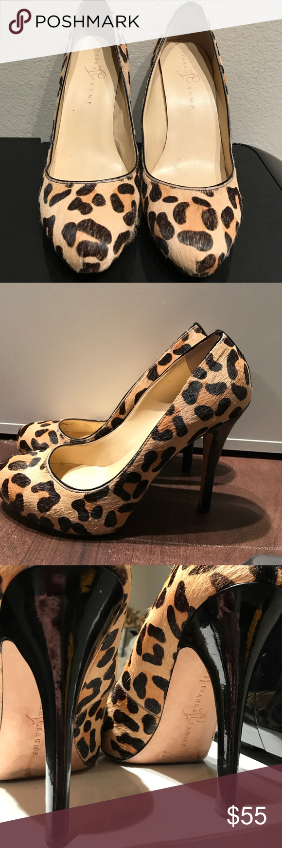 Ivanka Trump Leopard Print Heels Nordstrom Ivanka Trump heels. Leather and  animal print. Ivanka
