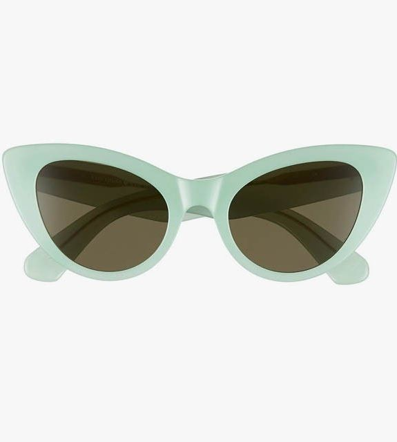 Kate Spade New York Deandra 50mm cat-eye sunglasses.