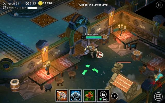 Dungeon Legends is a Free to play F2P, Android Action RPG (Role-Playing) Multiplayer Game