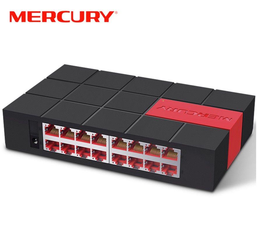 Mercury Sg116m 16 Port Rj45 Gigabit Switch 10 100 1000mbps Network Switch Desktop Switch Review Gigabit Switch Network Switch Rj45