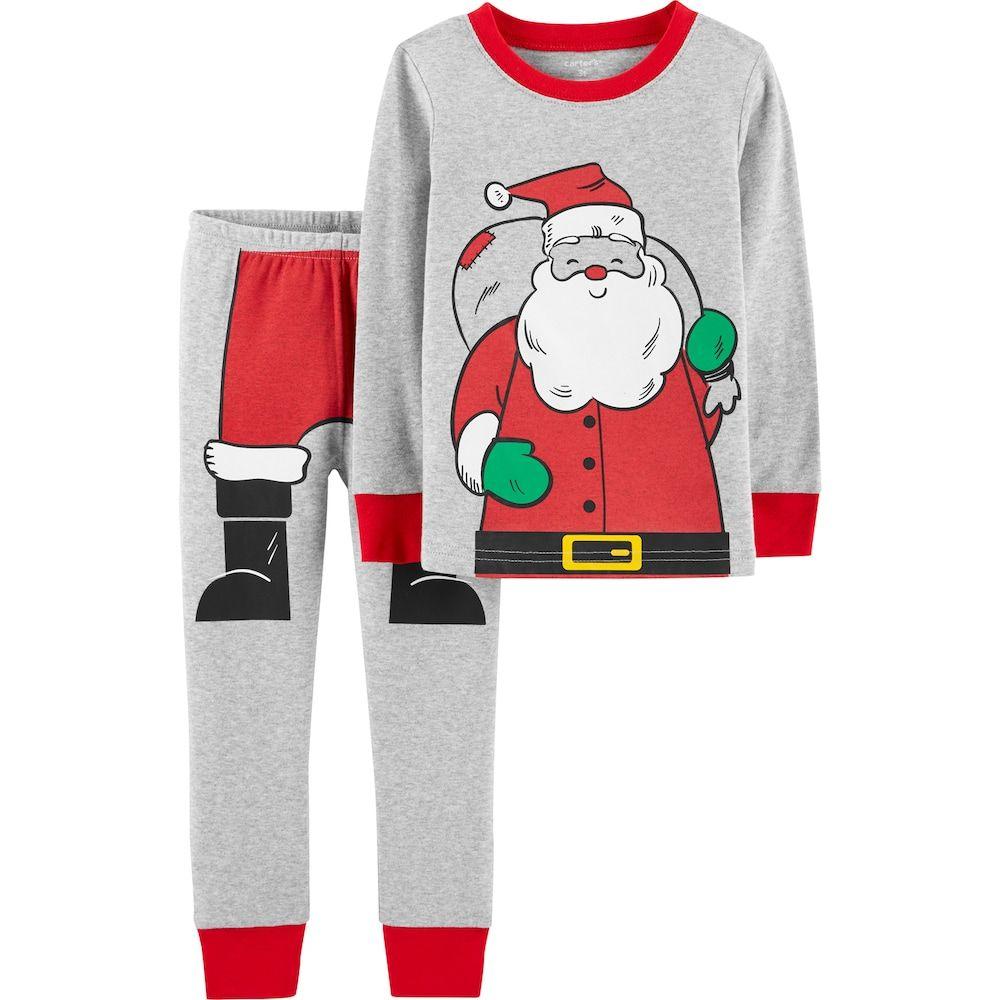 27e5ee92e Toddler Carter s Santa Claus Top   Bottoms Pajama Set
