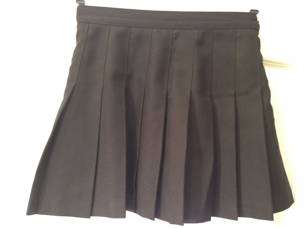 aa3928cede American Apparel Tennis Skirt MEDIUM Black Pleated Mini Skirt Skater School  Girl #fashion #clothing #shoes #accessories #womensclothing #skirts (ebay  link)