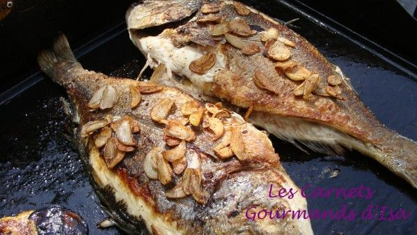 Dorade cuite à la plancha Gourmand