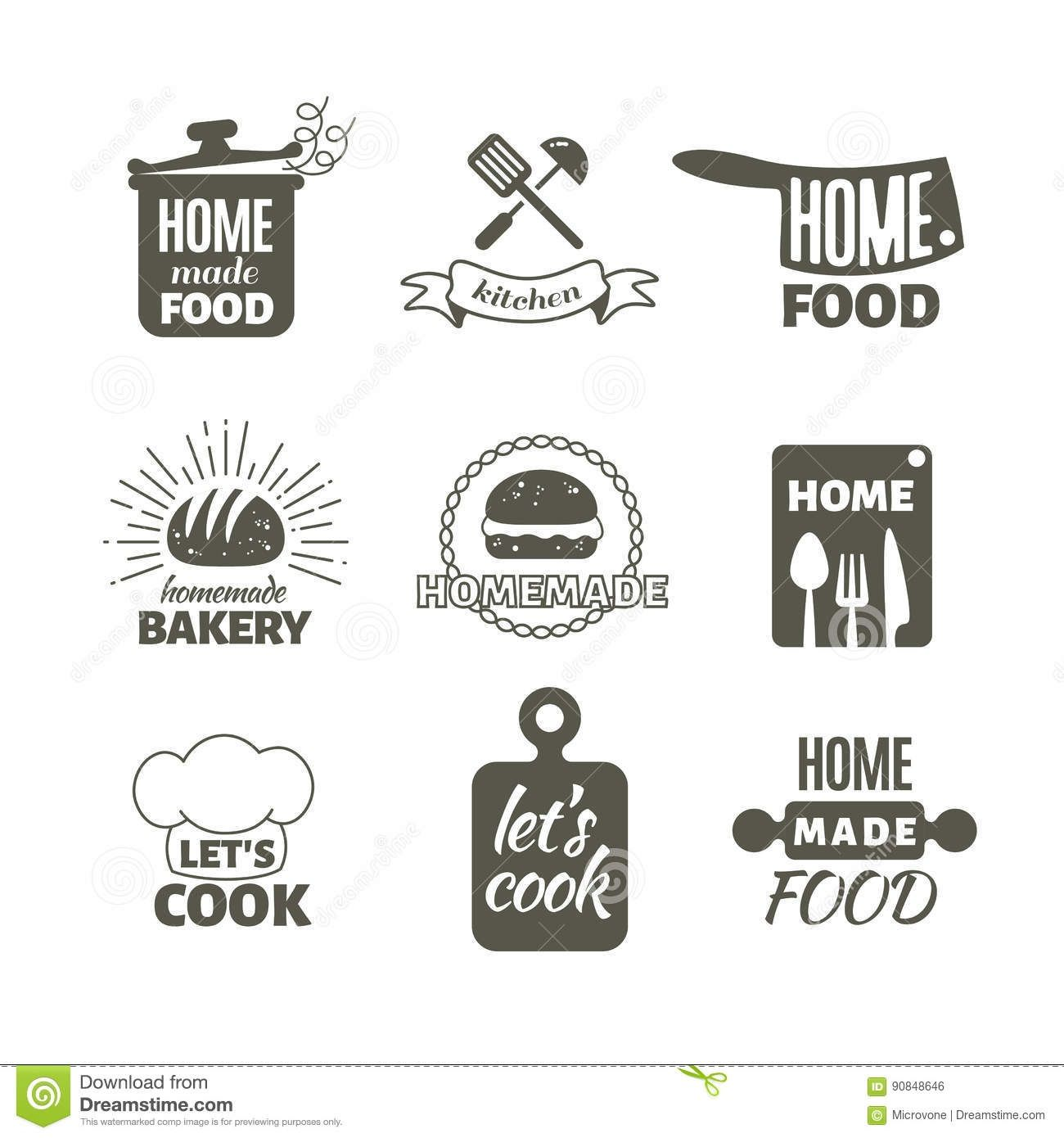 35 Beautiful Kitchen Logo Ideas Kitchen logo, Retro