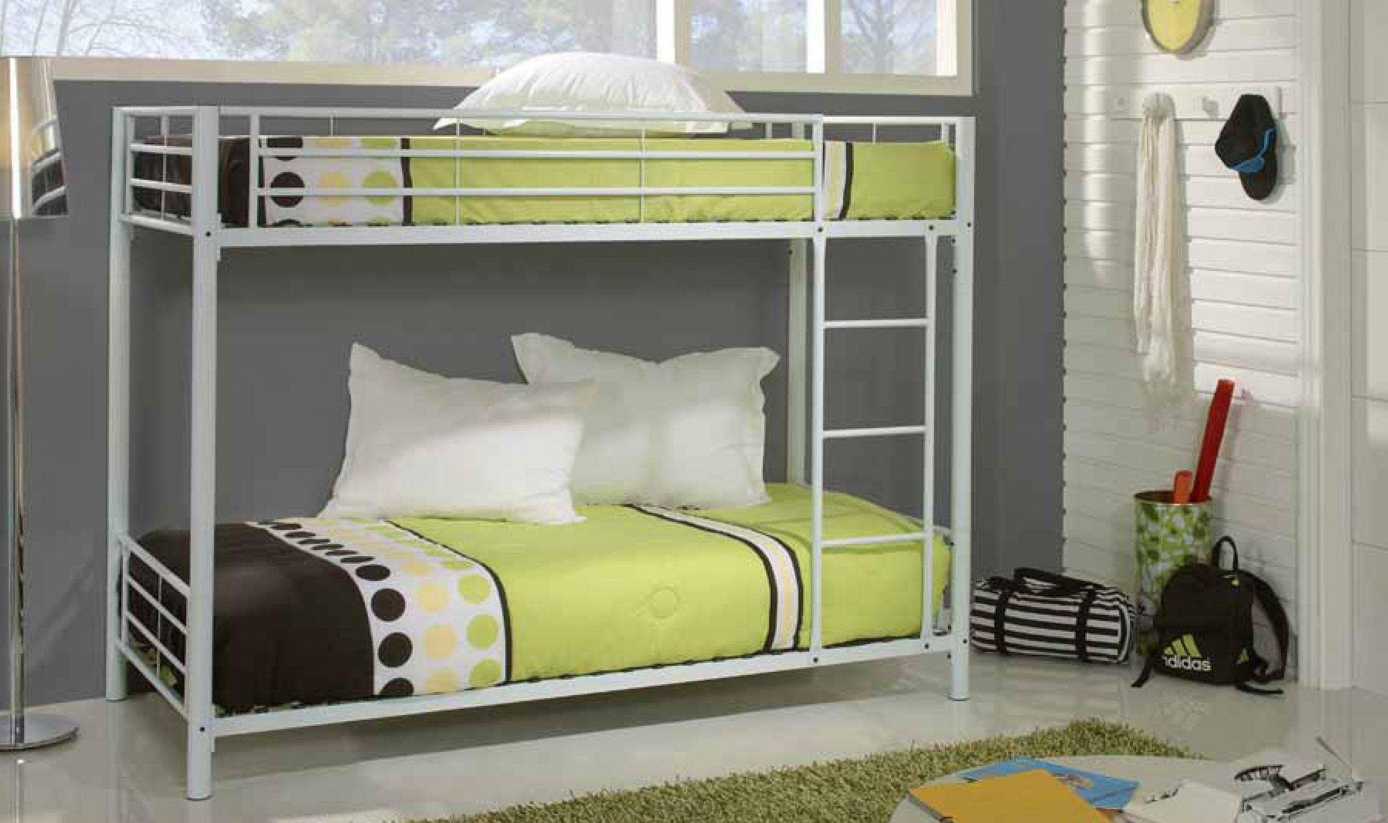 Cama Litera Metal Blanca | 床 | Pinterest | Cama litera, Litera y Camas