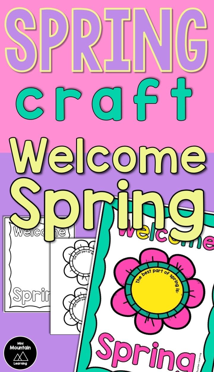 Spring Craft | Spring crafts for kids, Spring crafts ...