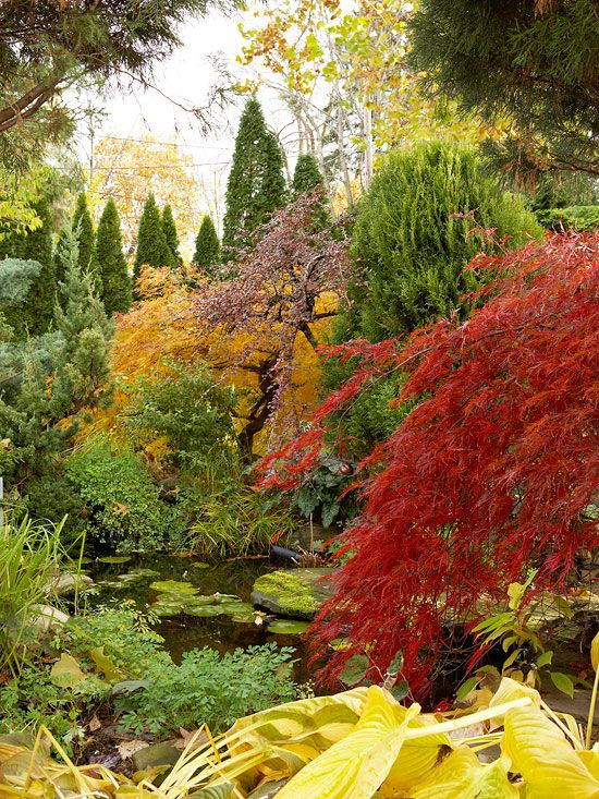 Fall Landscaping Ideas Fall Landscaping Water Features In The Garden Landscape Design