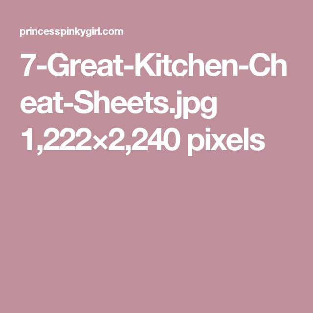 7-Great-Kitchen-Cheat-Sheets.jpg 1,222×2,240 pixels