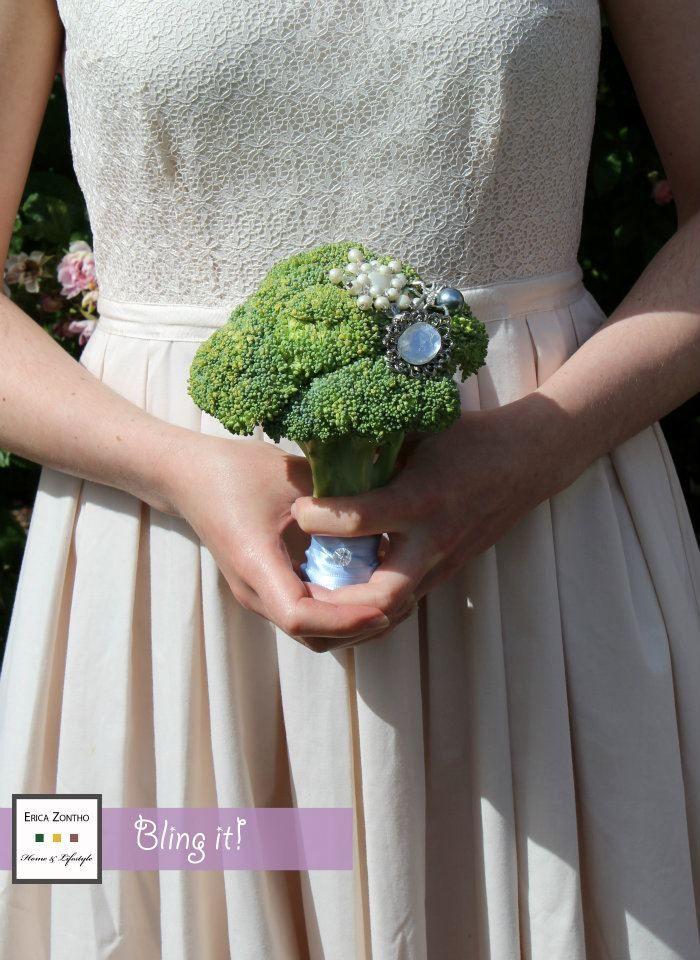 Broccoli Wedding Bouquet Wedding Flowers Wedding Bouquets Wedding
