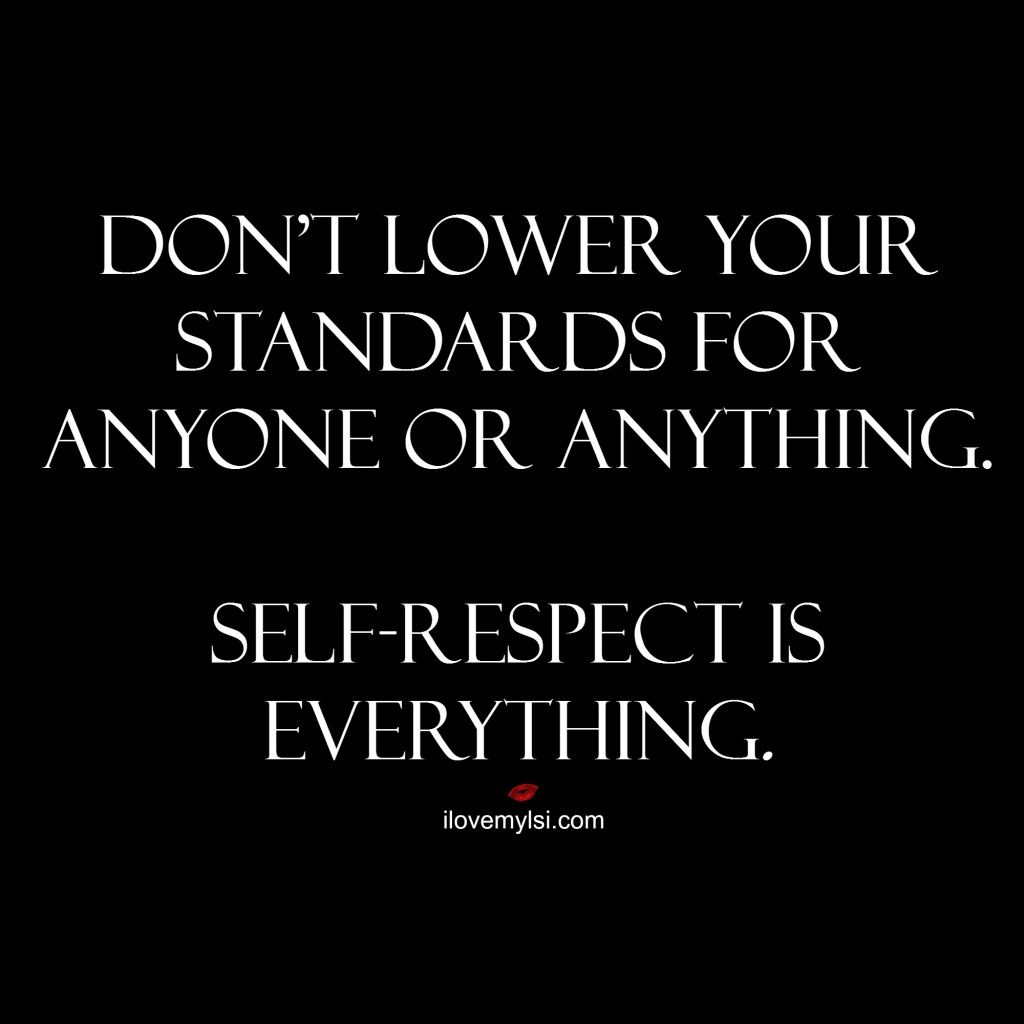 respect is everything