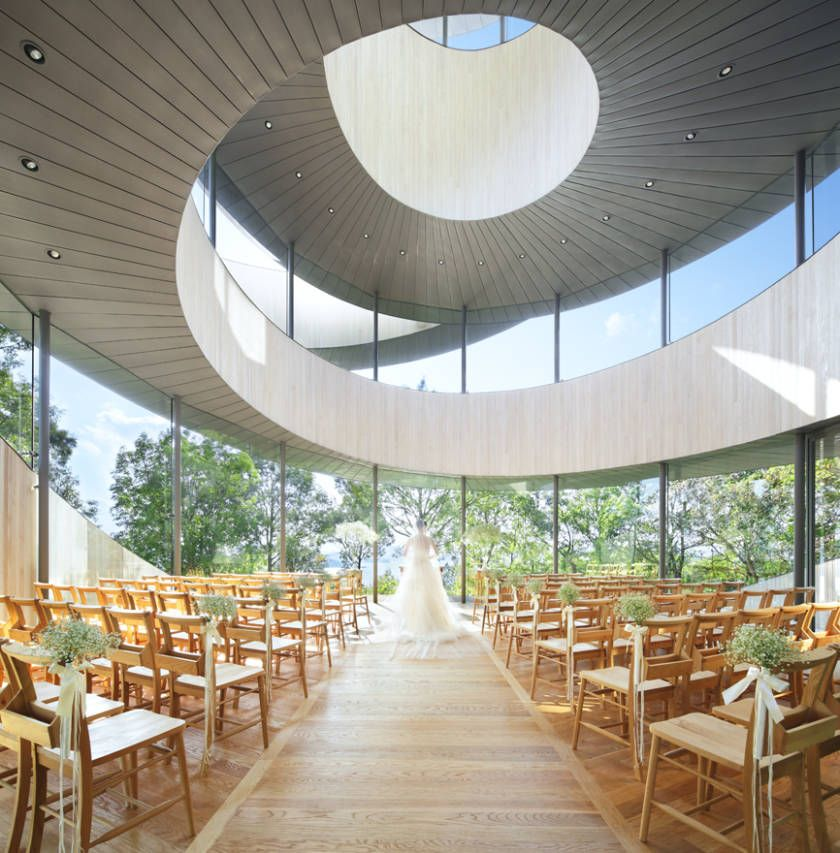 Ribbon Chapel Interior Thinking Fashion Pinterest