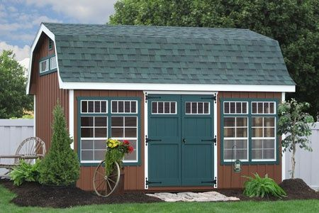 Genial Garden Storage Buildings From Amish In Lancaster PA, Buy The Garden Shed,  Outdoor Storage Sheds NY, Buy A Buy Garden Storage Buildings Direct From  The Amish ...