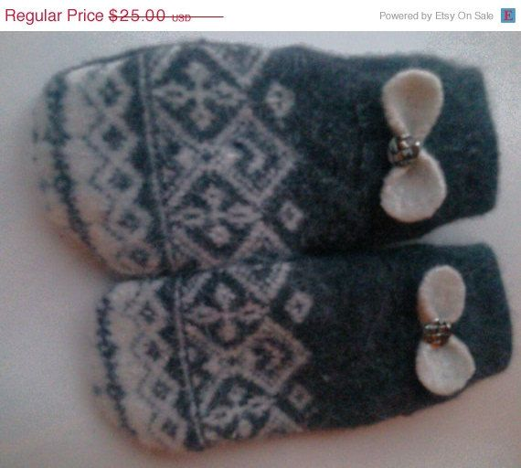 Hey, I found this really awesome Etsy listing at https://www.etsy.com/listing/176496371/march-madness-sale-felted-wool-mittens