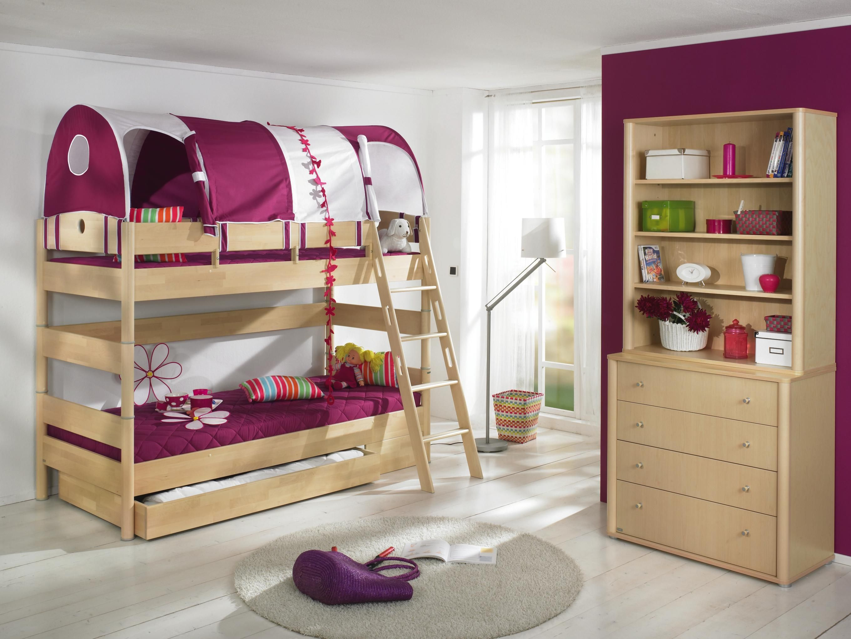 Hochbett aus echtholz von paidi hier f hlen sich kinder for Kinderzimmer echtholz