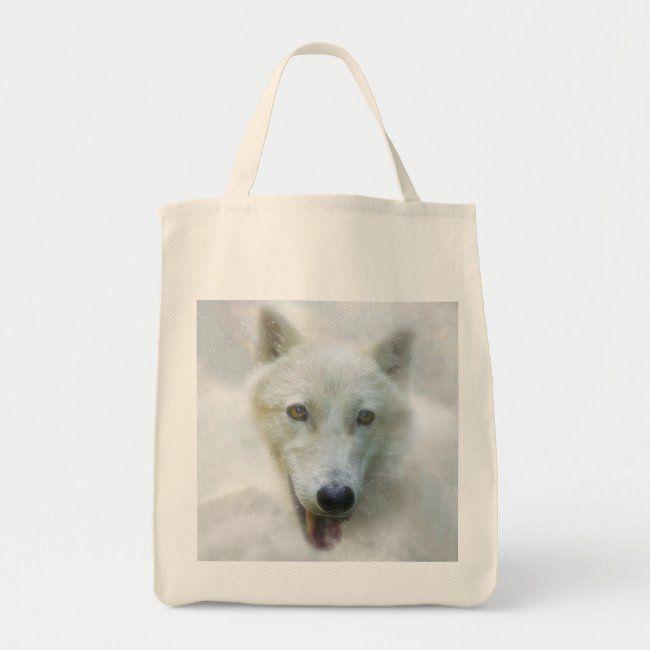 ARCTIC WOLF SNOW PIERCER TOTE BAG #Ad , #sponsored, #PIERCER#TOTE#BAG#SNOW