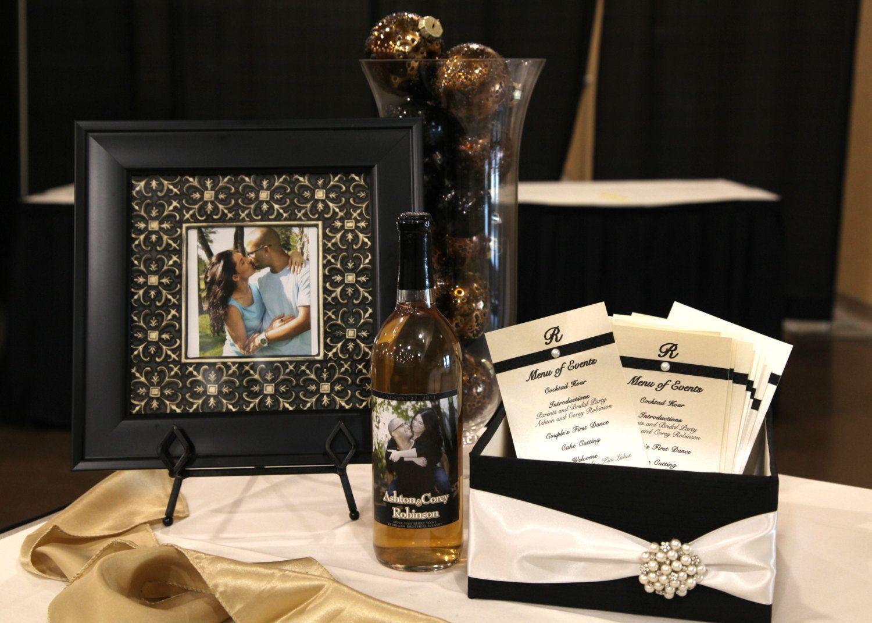 Wedding post box decorations  Wedding Program Box Amenities Box Favor Holder Bubble Holder