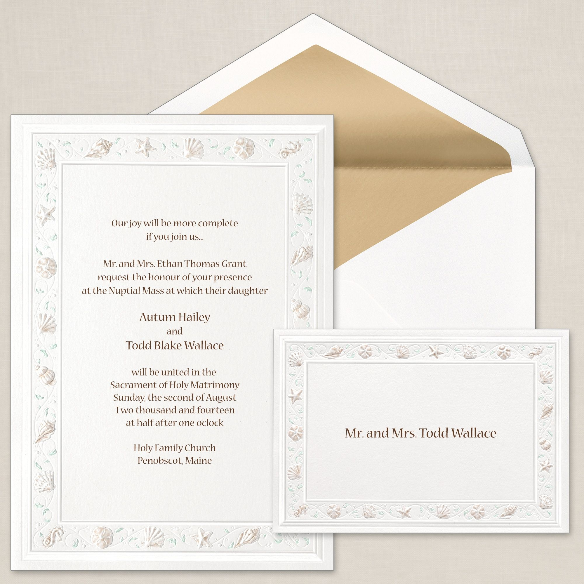 Medium Of All In One Wedding Invitations