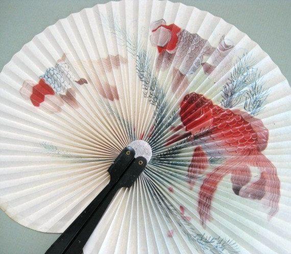 Hand Fan Wall Fan Home Décor Paper Fan Wall Décor Hanging Fan ...
