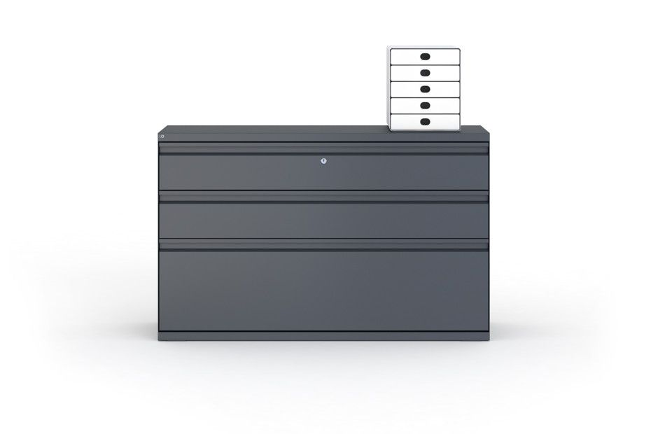 One Storage units with drawers