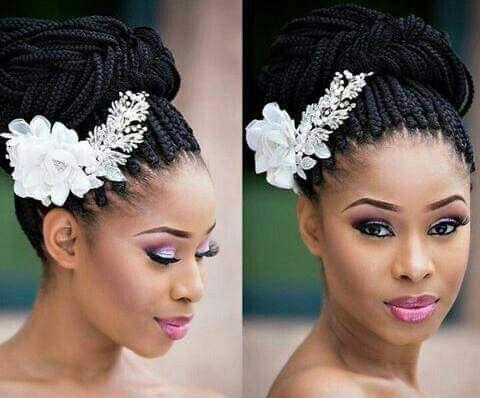Épinglé par Bijou Kudiangela sur coiffure afro mariage