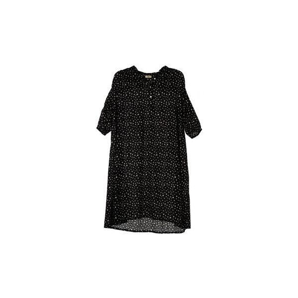 Skjortekjole med stjerner by Rika. Køb produkter fra verdens mest... ❤ liked on Polyvore
