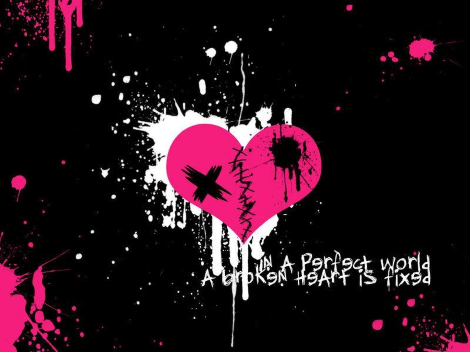Emo Heart Background Wallpaper Jpg 1600 1200 Emo Wallpaper