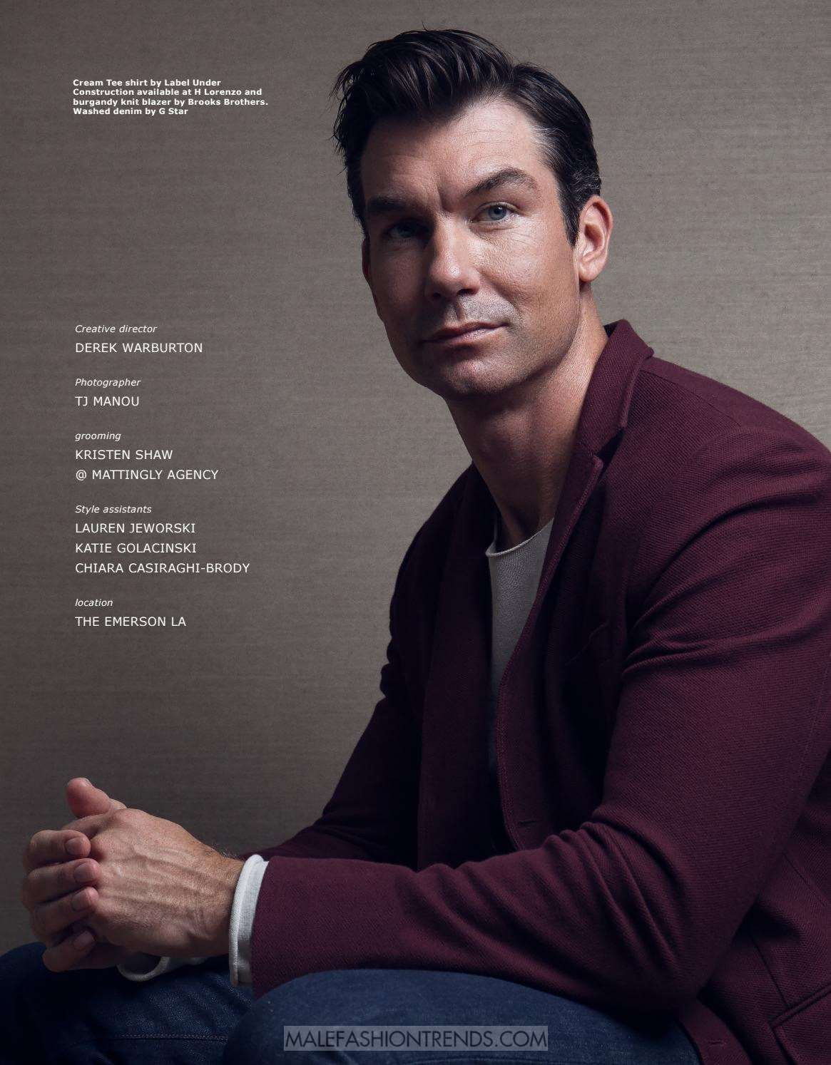Jerry O'Connell para LA PALME Magazine Fall Issue