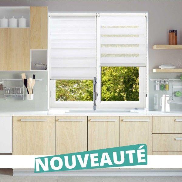 store jour nuit enrouleur blanc must sans percer ni visser stores jour nuit en 2019 curtains. Black Bedroom Furniture Sets. Home Design Ideas