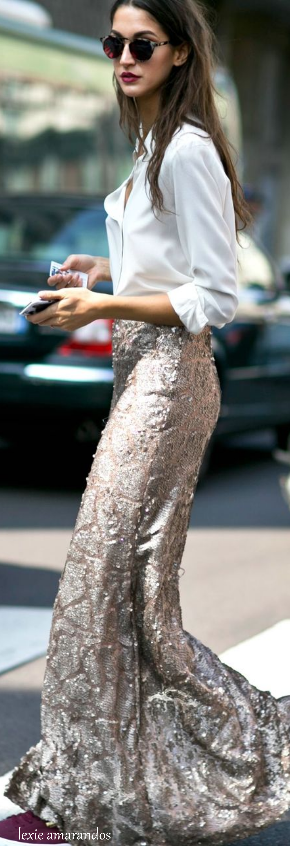 Milan Fashion Week Street Style Fall 2015 www.alidifirenze.fr