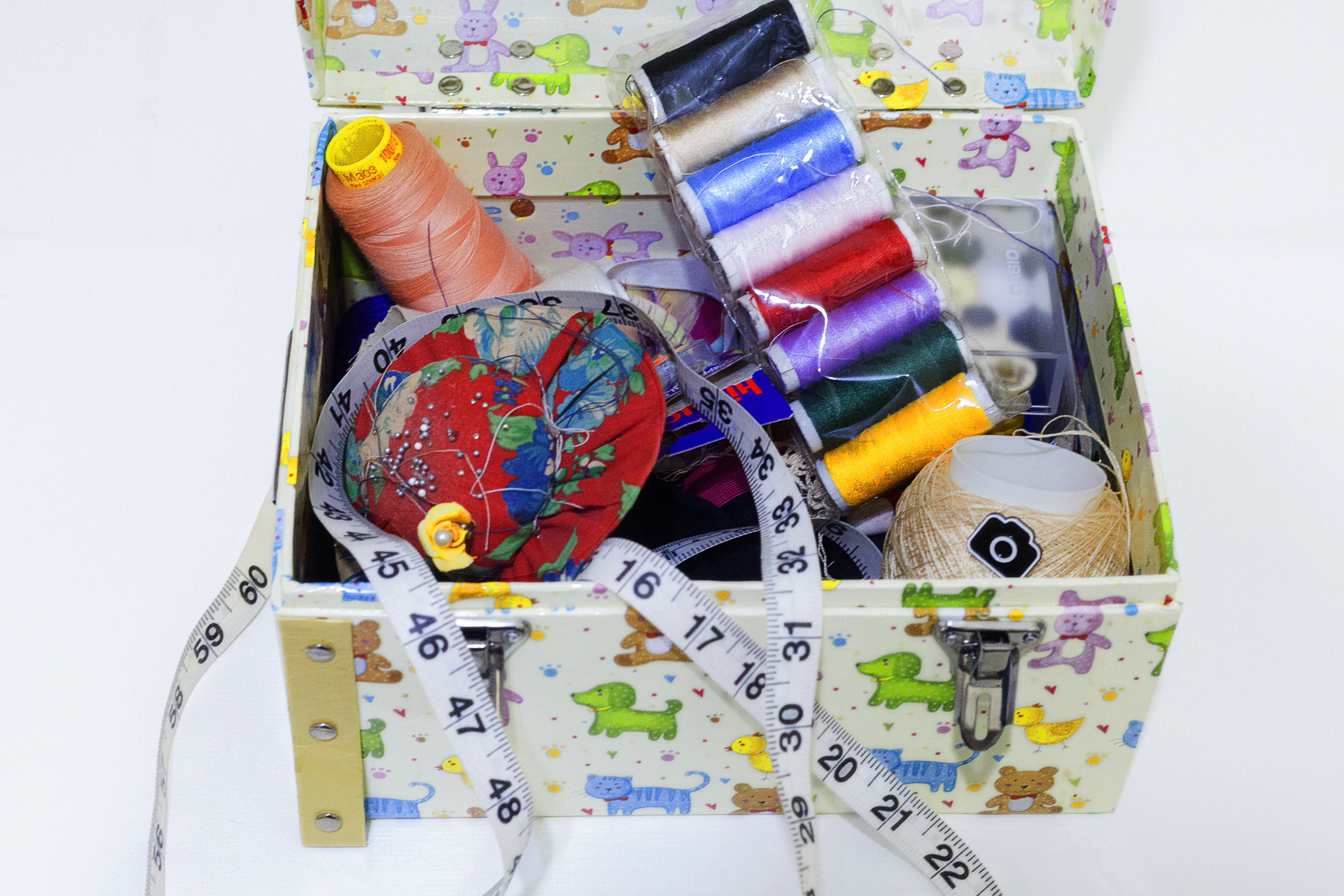 game sewing paper assortedcolor thread lot assorted