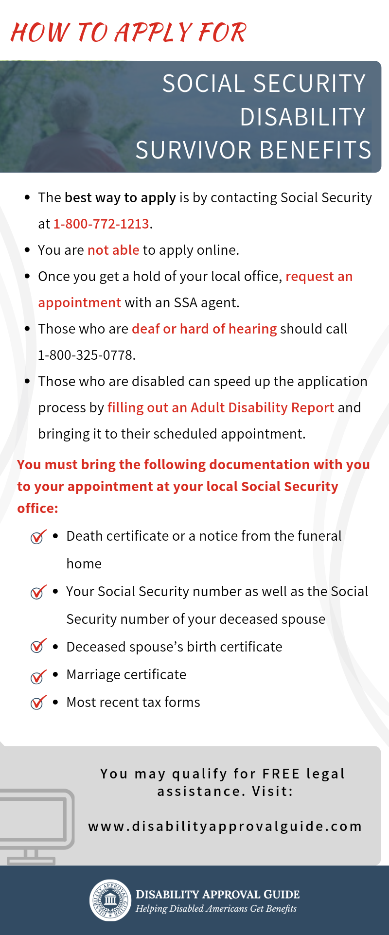What You Should Know About Disability Survivor Benefits Social Security Disability Social Security Benefits How To Apply