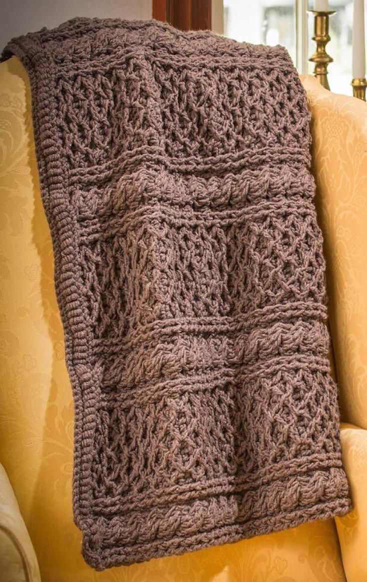 Free Pattern Get Cozy With This Classic Downton Abbey Mrs Hughes