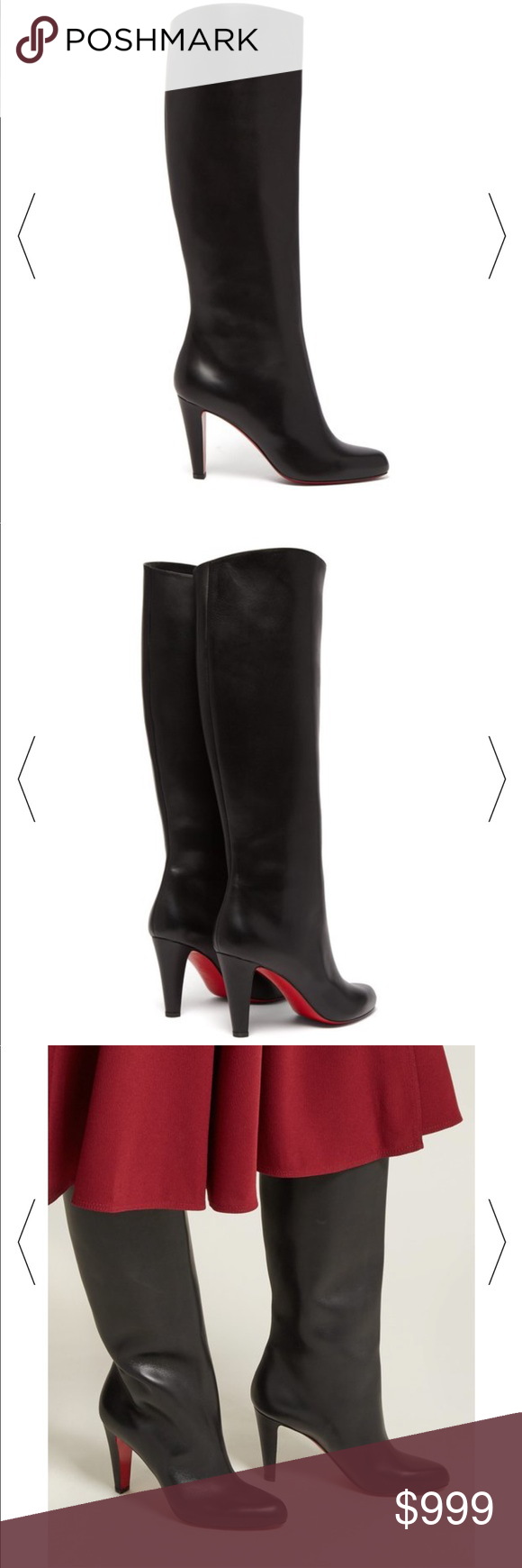best cheap 6199b f64a5 Christian Louboutin Marmara knee high boot Sz 81/2 Anyone ...