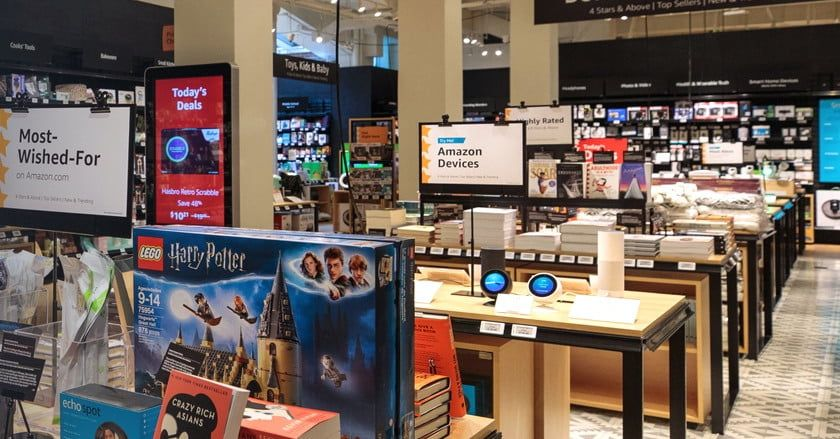 Amazon Is Opening A New Brick And Mortar Store With A Twist Digital Trends Brick And Mortar Digital Trends Electronics Store Display