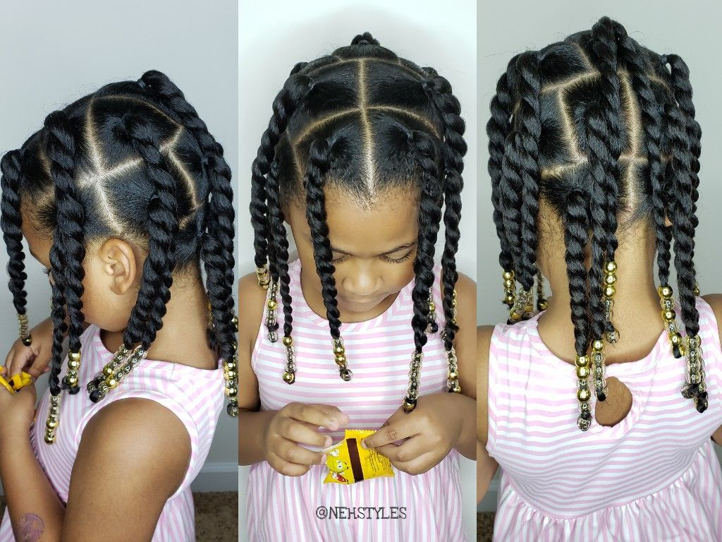 Easy toddler Hairstyle for natural curly hair#curly #easy ...