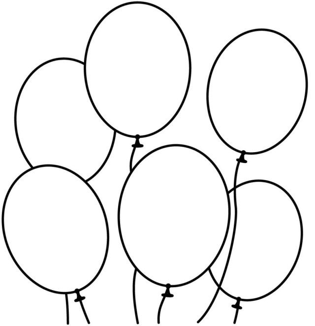23 Pretty Picture Of Balloon Coloring Pages Birijus Com Coloring For Kids Free Printables Free Kids Easy Coloring Pages